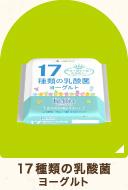 17種類の乳酸菌 ヨーグルト